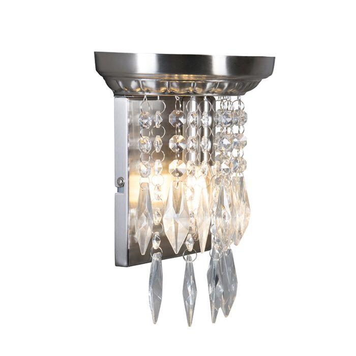 Væglampe-Jelly-stål