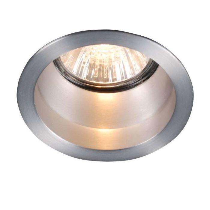 Forsænket-spot-Dept-Round-Basic-aluminium