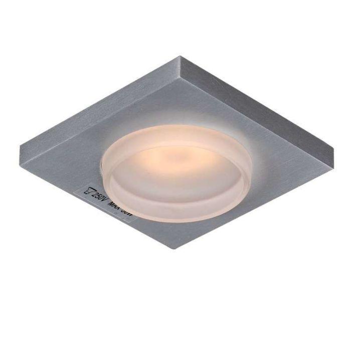 Badeværelse-forsænket-spot-Spa-glas-firkant