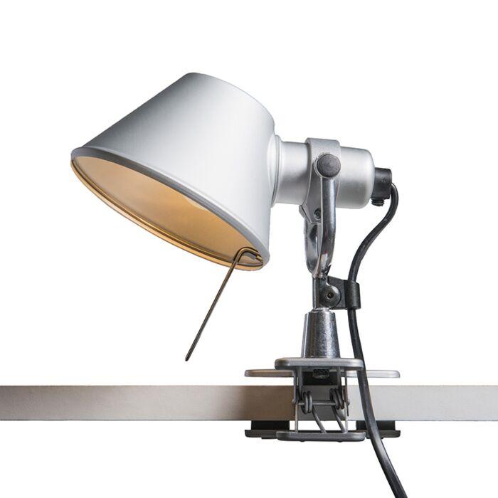 Artemide-bordlampe-justerbar---Artemide-Tolomeo-micro-pinza