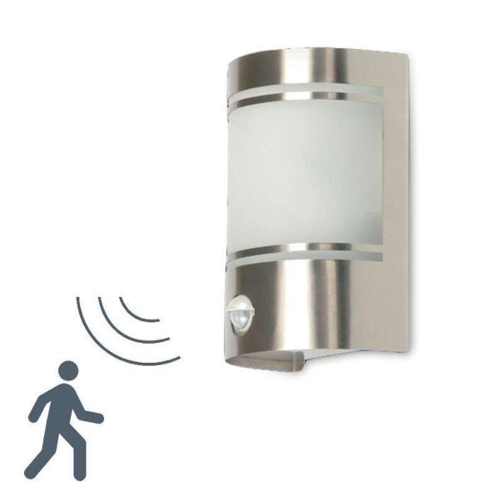 Udendørslampe-Boston-med-IR-bevægelsesdetektor