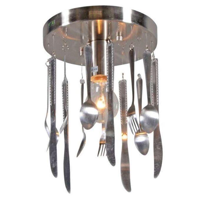 Loftlampe-Køkkenstål