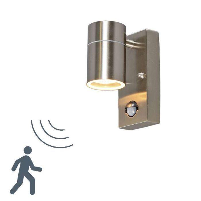 Solo-udendørs-væglampe-stål-PIR
