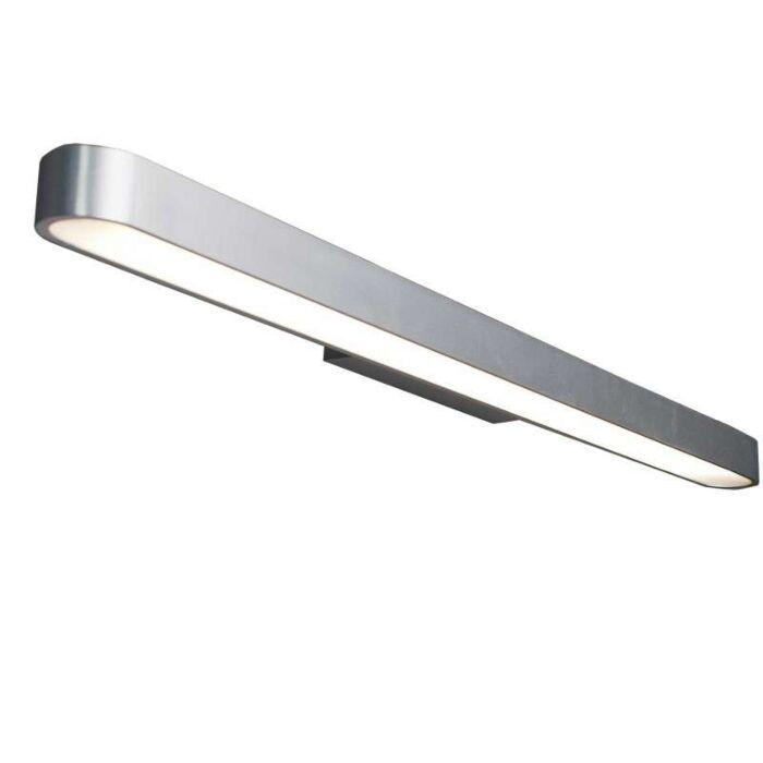 Væglampe-Linea-90-aluminium