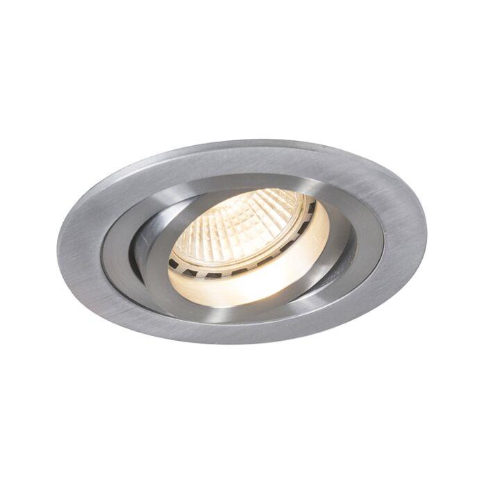 Moderne-forsænket-spot-aluminium---Rondoo