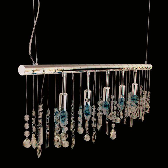 Hængelampe-Blink-5-krom