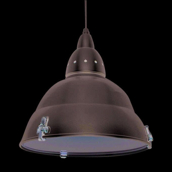 Industriel-hængelampe-Fabriksaluminium