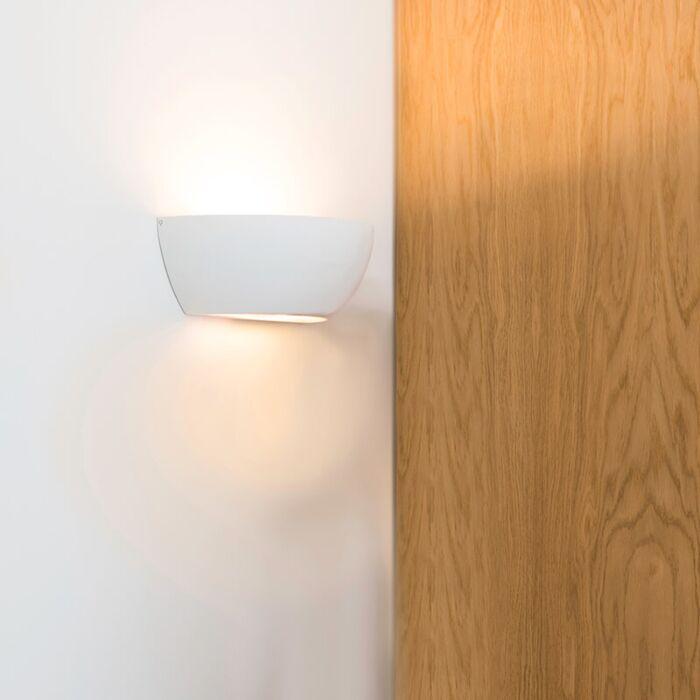 Væglampe-hvid---Gipsy-Chatou