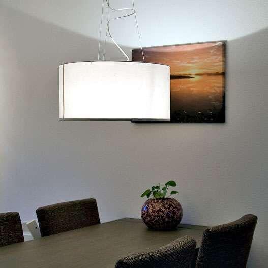 Hængelampe-Drum-60-cremehvid