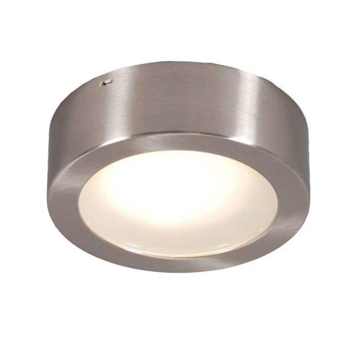 Loftlampe-/-Væglampe-Tema-13-rund-ES-stål