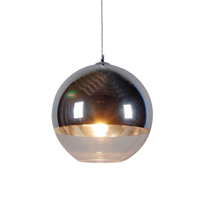 Hængelampe-Kugle-40-sølv