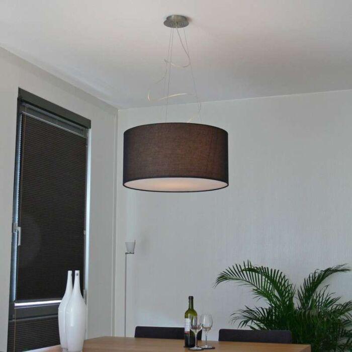 Hængelampe-Drum-60-sort