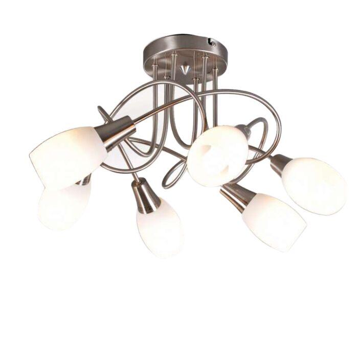 Loftlampe-Andrea-6-stål