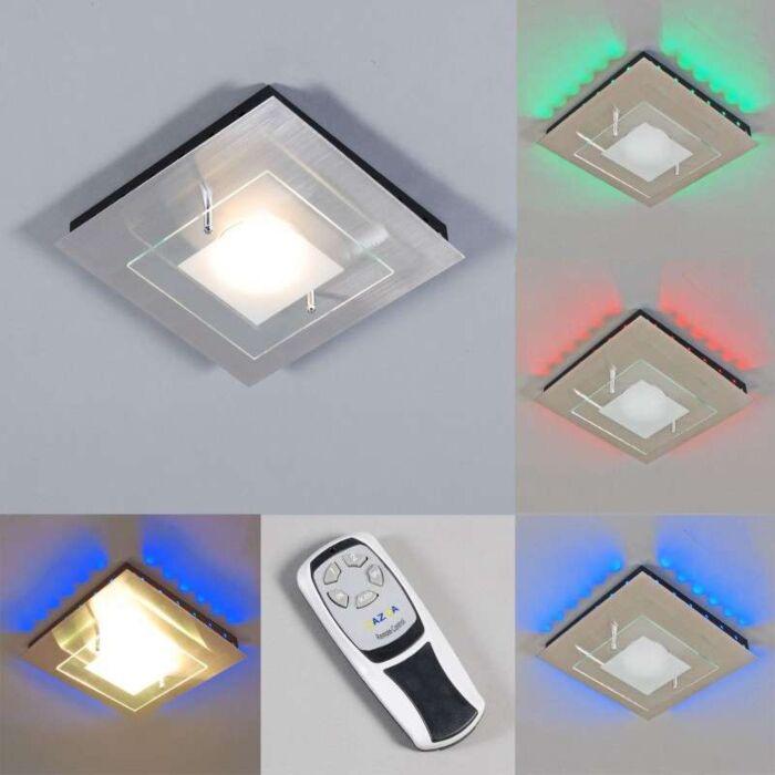 Loftlampe-Plade-GX-RGB-LED-stål