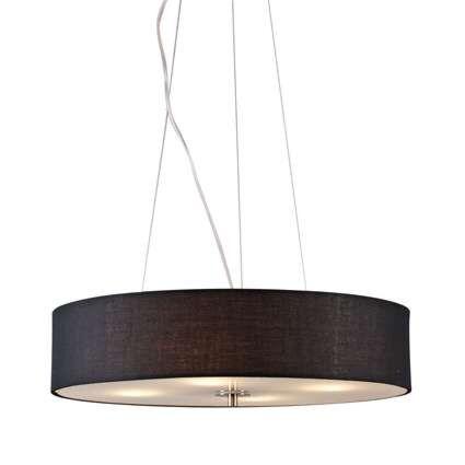 Hængelampe-Drum-50-kort-sort