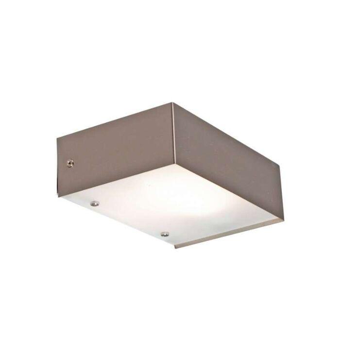 Væglampe-Goole-ES-stål