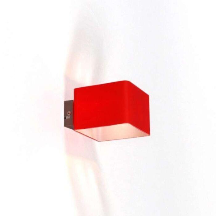 Væglampe-Nova-Red