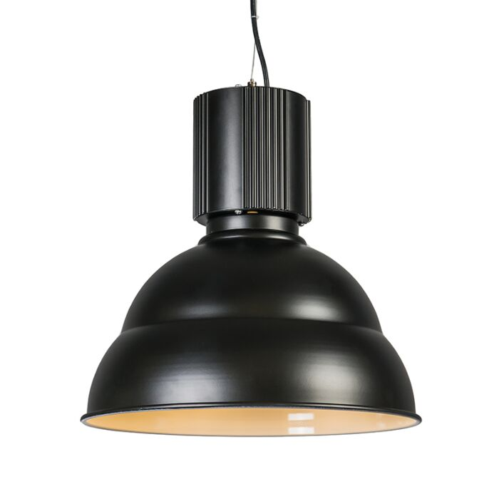 Hængende-lampe-Industri-sort