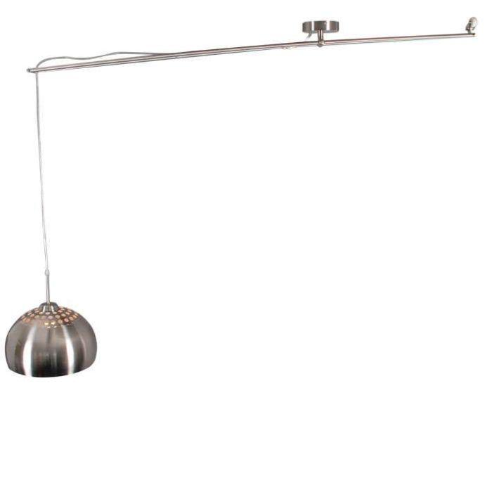 Hængelampe-Decentra-Delux-stål