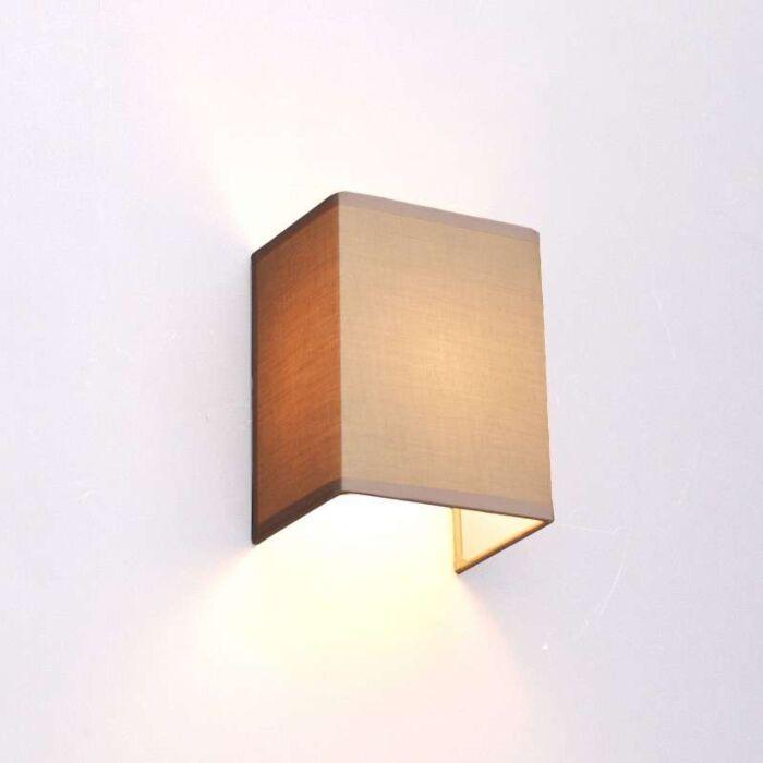 Country-væglampe-beige---Vete