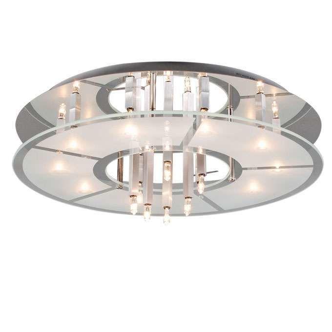 Loftlampe-Circle-16-krom