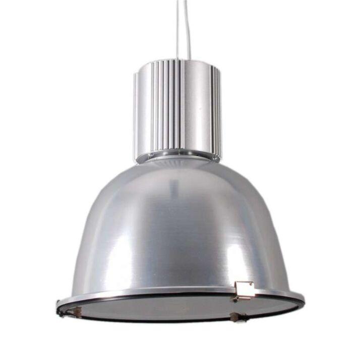 Industriel-hængelampe-sølv---Silvie