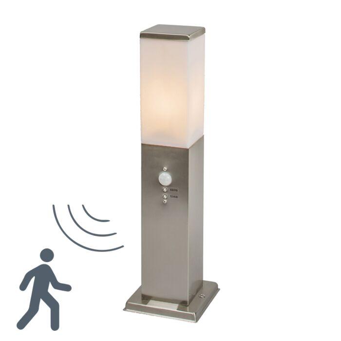 Udendørslampe-Malios-pole-45-IR-stål