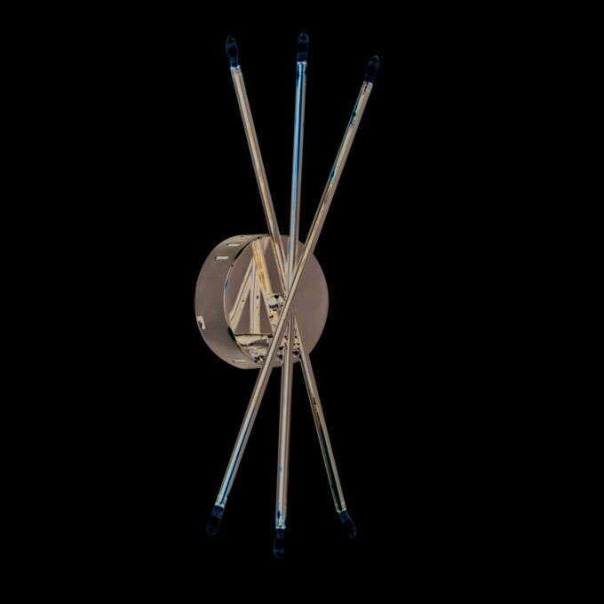 Væglampe-Mikado-6-krom