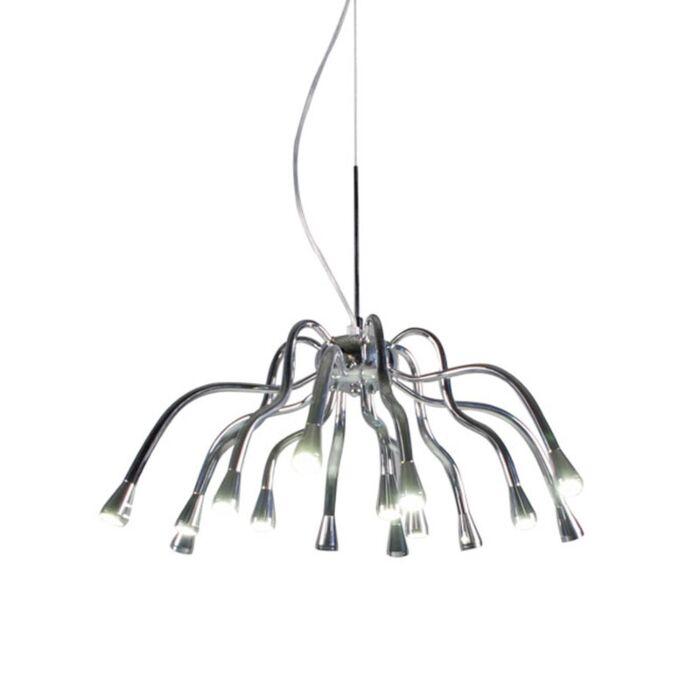 Hængelampe-Angeline-LED-krom