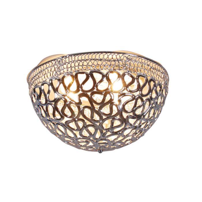 Loftlampe-Farao-50-krom