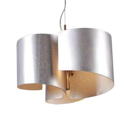 Hængelampe-Salerno-sølv