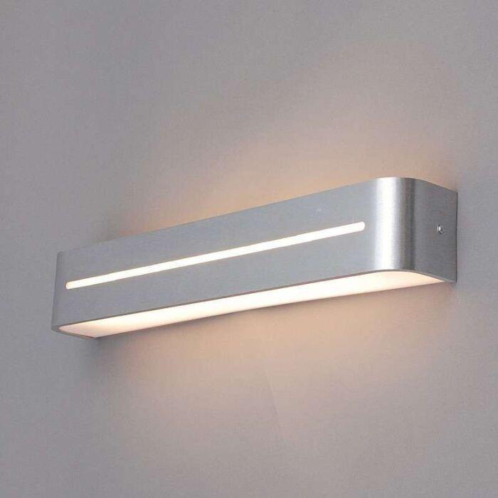 Væglampe-Vasco-50-aluminium