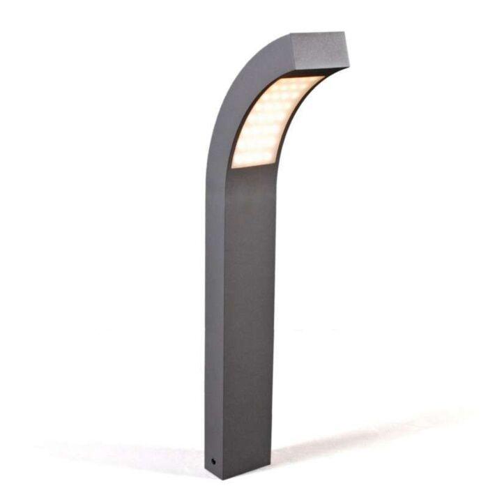 Udendørslampe-Sverige-LED-P60-grafit