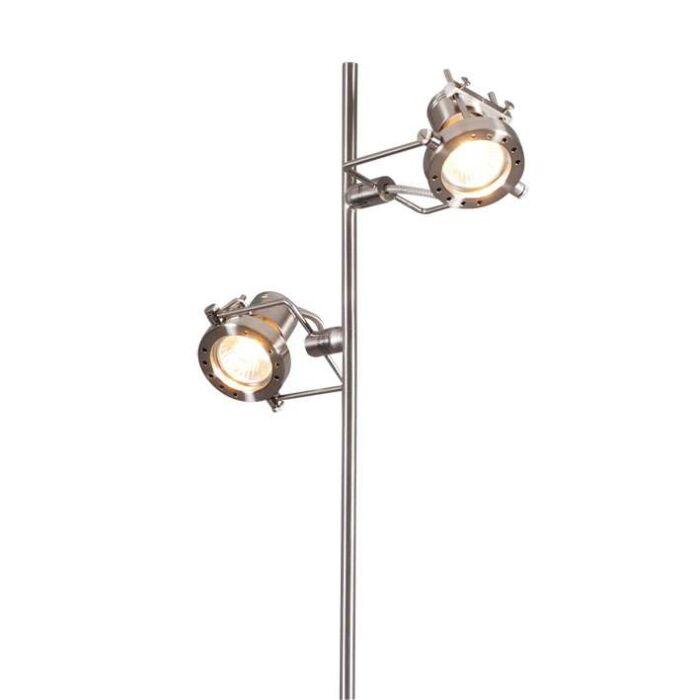 Gulvlampe-Suplux-2-stål