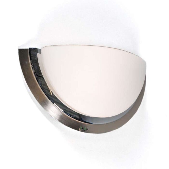 Væglampe-Barney-stål-krom