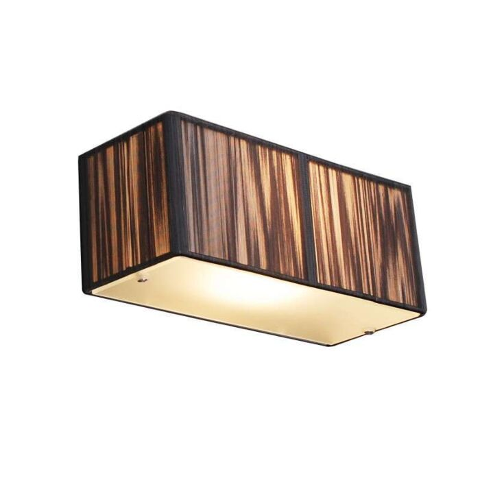 Væglampe-Rope-rektangel-antracit