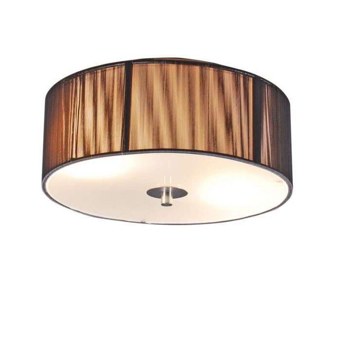 Klassisk-loftslampe-antracit-30-cm---reb