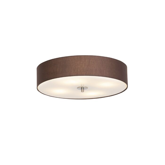Country-loftlampe-brun-50-cm---Tromme