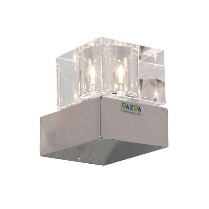 Væglampe-Terning-1-krom