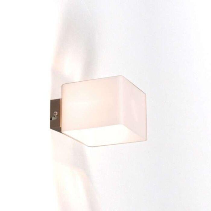 Væglampe-Nova-hvid
