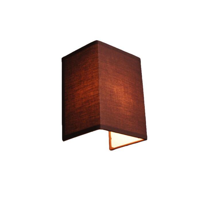 Country-væglampe-brun---Vete