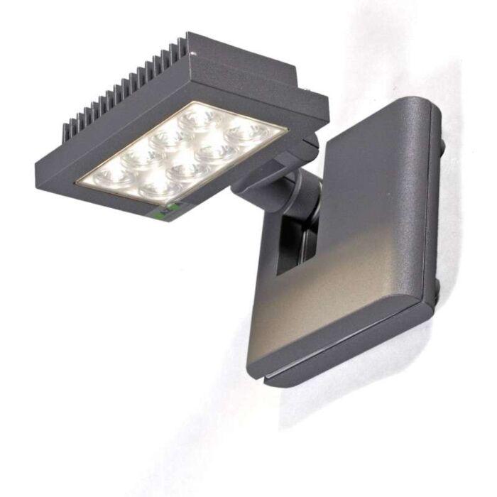 Opton-Flood-Light-grafit-med-varm-hvid-LED