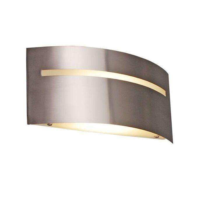 Væglampe-Sladder-ES-stål