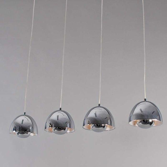 Hængelampe-Elx-4-krom
