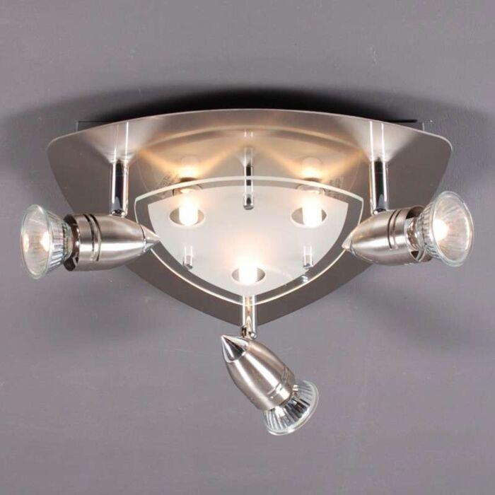 Loftlampe-Malo-6-stål
