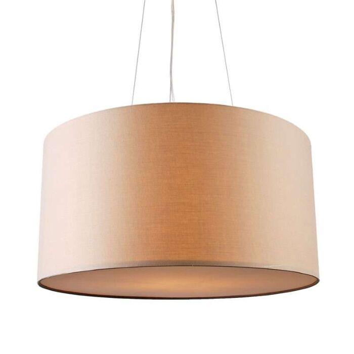 Hængelampe-Drum-60-beige