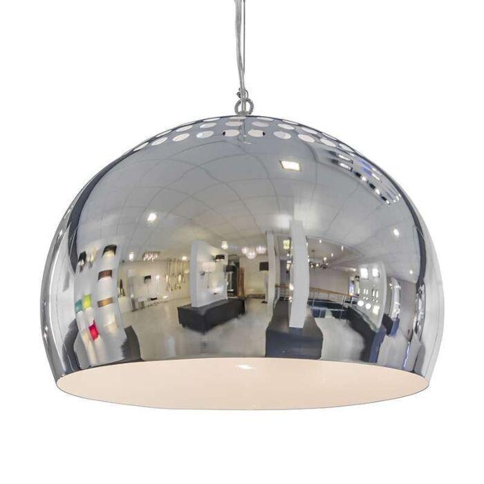 Hængelampe-Fermo-40cm-krom