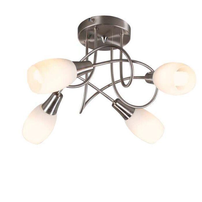 Loftlampe-Andrea-4-stål