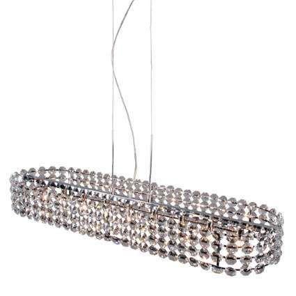 Hængelampe-Monza-oval-krystal