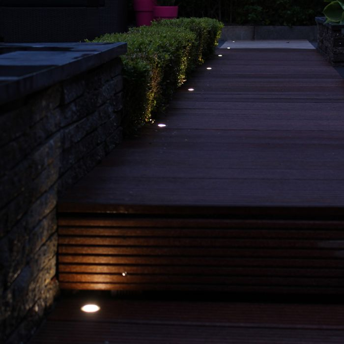LED-installationssæt-med-10-Cosi-i-varm-hvid